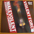 Violent Force -  Malevolent Assault of Tomorrow LP Tape / Vinyl / CD / Recording etc