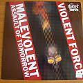 Violent Force -  Malevolent Assault of Tomorrow LP Tape / Vinyl / CD / Recording etc