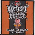 Malevolent Assault Of Tomorrow (Woven Patch)