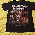 TShirt or Longsleeve - T-Shirt Demolition Hammer Tortured Existence