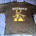 Bathory yellow goat shirt printed by Euronymous