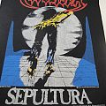 """Sepultura """"Escape to the void"""" original backpatch"""