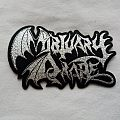 Mortuary Drape logo patch