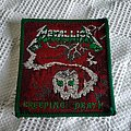 Unearthed gold part II : Original Metallica Creeping Death patch