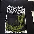 "Cruciamentum ""Engulfed in desolation"" t-shirt"