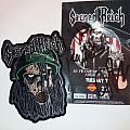 Sacred reich patch and ticket