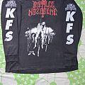 Impaled Nazarene - Ugra Karma / K.F.S. white logo original longsleeve shirt