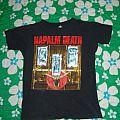 Napalm Death - Death By Manipulation original shirt