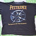 Pestilence - Testimony Of The Ancients / Presence Of The Pest tour original shirt
