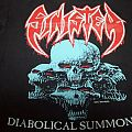 Sinister - 1993 Diabolical Summoning Vintage Shirt for Sell