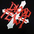 - SOLD - BLOOD FEAST - 1987 Logo Original in XL ! upside down cross TShirt or Longsleeve