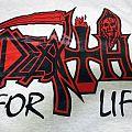SOLD - DEATH- Death for Life Vintage T-shirt
