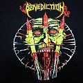SOLD Benediction - 1993 Euro Tour Original vintage NEW TS in L . Sell  TShirt or Longsleeve
