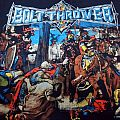SOLD Bolt Thrower 1992 The IVth Crusade in L size . SELL TShirt or Longsleeve