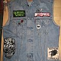 Battle Jacket - Vest with patches and batches