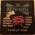 metalmania 90 Patch