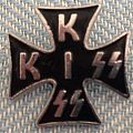 Kiss Iron Cross Pin Pin / Badge