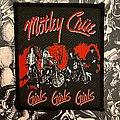 Mötley Crüe - Patch - Mötley Crüe Girls Girls Girls