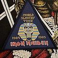 Iron Maiden - Patch - Iron Maiden World Slavery Tour