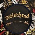 Motörhead - Patch - Motorhead Overkill Round Patch