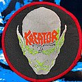 Kreator - Patch - Kreator Behind the MIrror Circle Patch Red Borders