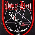 Power From Hell - Patch - Power From Hell The True Metal