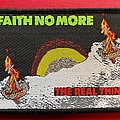 Faith No More - Patch - Faith no More The Real Thing