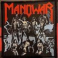Manowar - Patch - Manowar Fighting the World