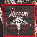 Venom - Patch - Venom Welcome to Hell Red Borders