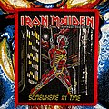 Iron Maiden - Patch - Iron Maiden Somewhere in Time Red Borders Patch