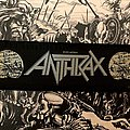 Anthrax - Patch - Anthrax Persistence of Time Strip Patch