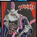 Tankard - Patch - Tankard Fat Ugly and live