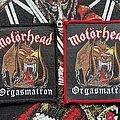 Motörhead - Patch - Motörhead Orgasmatron Patches