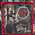 Slayer - Patch - Slayer Reign in Blood Red Borders