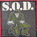 S.O.D. - Patch - S.O.D. Sargent D