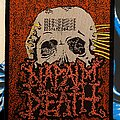 Napalm Death - Patch - Napalm Death Mentally Murdered Patch