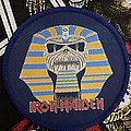 Iron Maiden - Patch - Iron Maiden Powerslave Round Patch