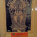 WATAIN Tour Poster Dec. 2013 Other Collectable