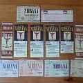 Nirvana Ticket Collection 1994 Other Collectable