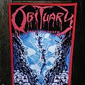 Obituary - Cause of Death DIY Backpatch