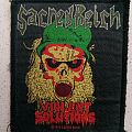Sacred Reich Violent Solutions patch