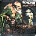 """Other Collectable - signed first printing Warlock """"Burning the Witches"""" vinyl"""