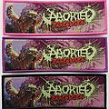 Aborted - Patch - Aborted - Terrorvision patch