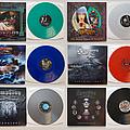 Symphony X vinyl collection Tape / Vinyl / CD / Recording etc