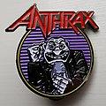 Anthrax - Now It's Dark enamel pin Pin / Badge