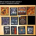 Metallica - Patch - Various patches