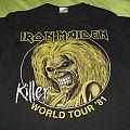 Iron Maiden - TShirt or Longsleeve - Iron Maiden - World Tour '81