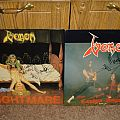 Venom - Other Collectable - Venom - Nightmare / Canadian Assault EP's autographed
