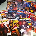 Kerrang lot.  Other Collectable