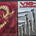 Other Collectable - Vio-lence Eternal Nightmare + Opressing the masses vinyl